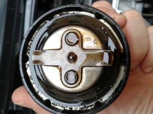 Tappo olio motore, dettaglio guarnizione
